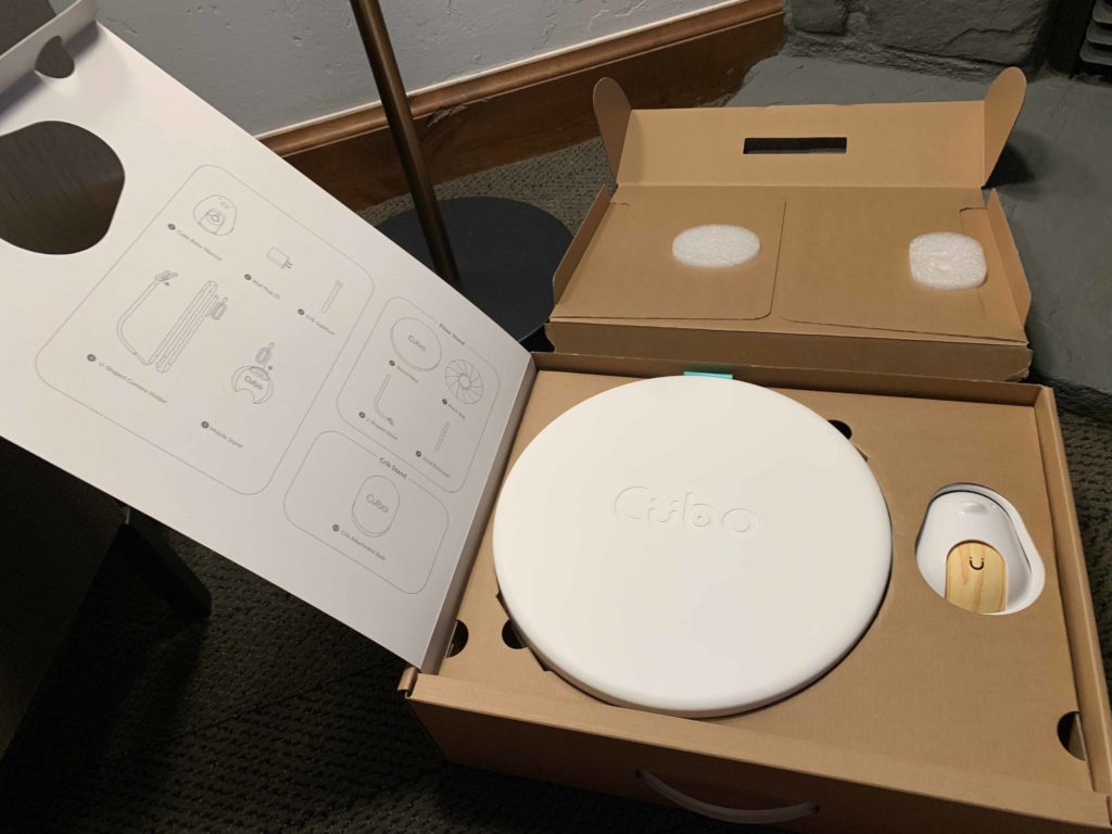 Unboxing the Cubo baby monitor