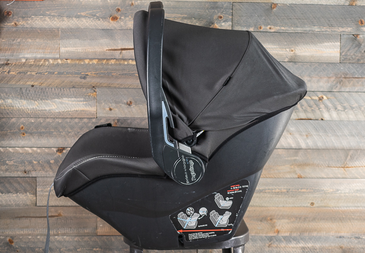 A top-rated car seat